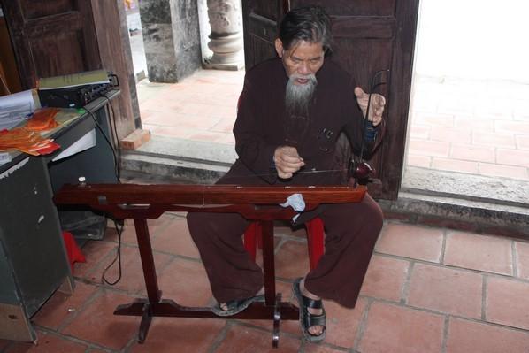 Instrument de musique local !