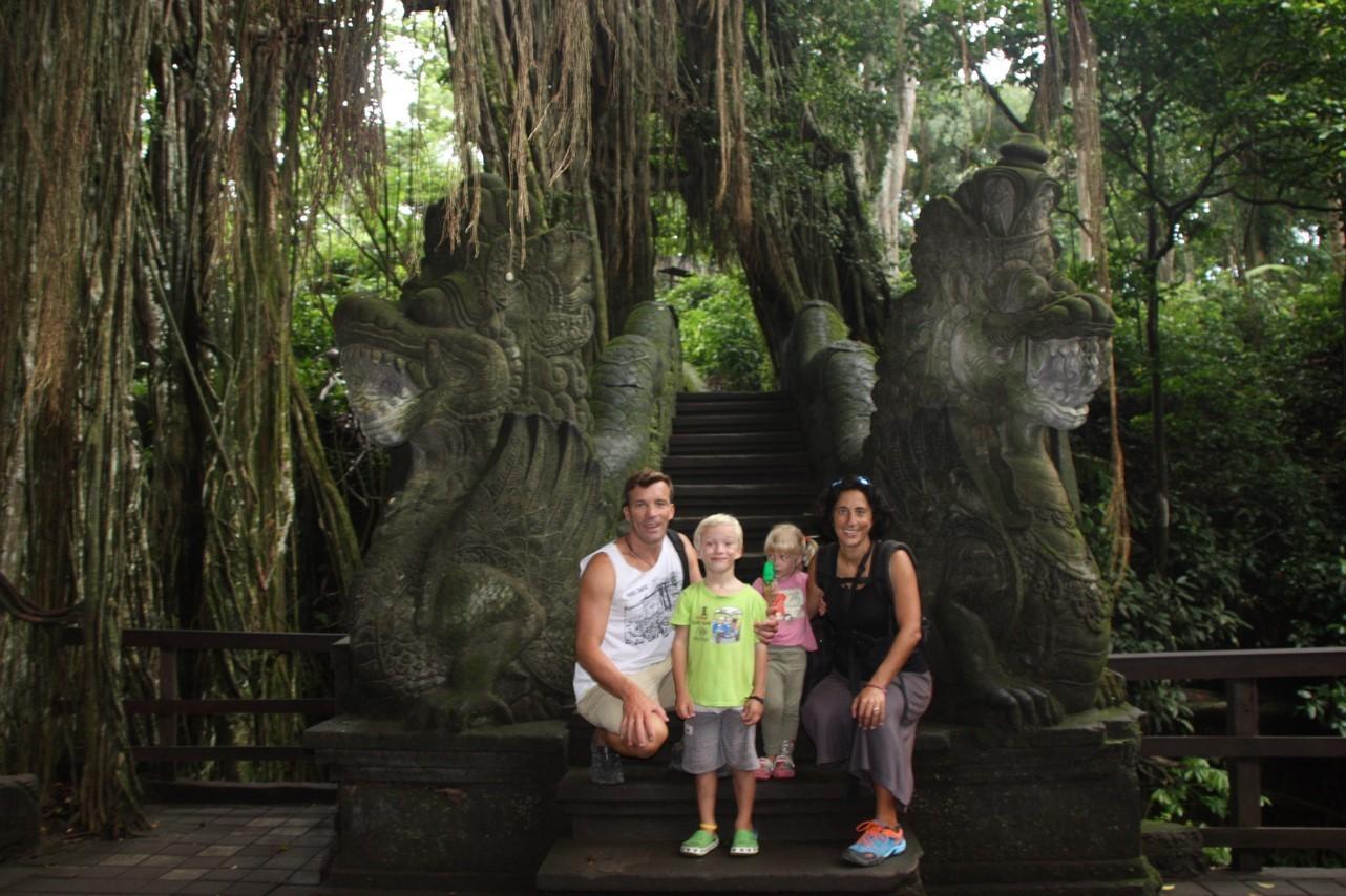 Découverte de la forêt des singes à Ubud