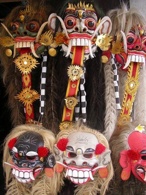 Les masques de Bali