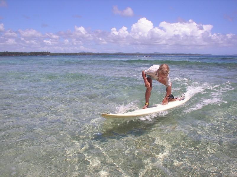 Cours de surf avec Mael - position 3
