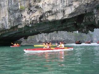 Sorties Kayak depuis un village flottant