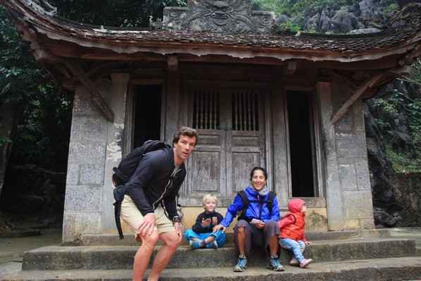 Découverte de pagode