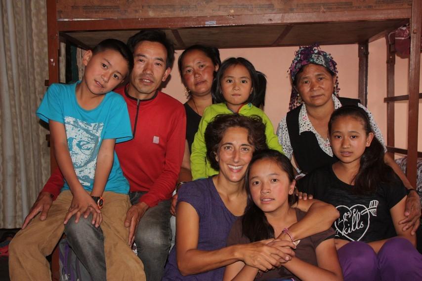 Photo de famille népalaise