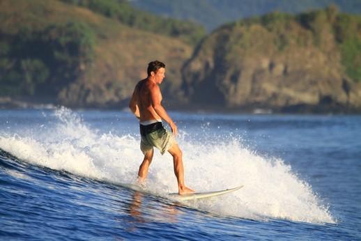 Sans oublier Julien et nos amis surfeurs ...