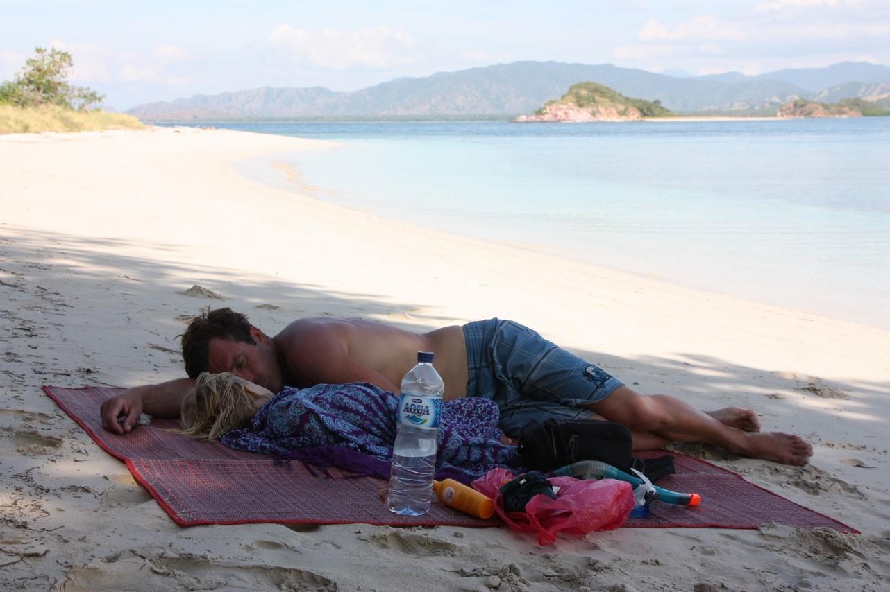 La sieste pour Laia et Dani