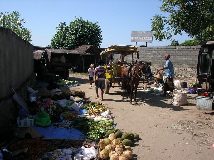 Marché de Kuta
