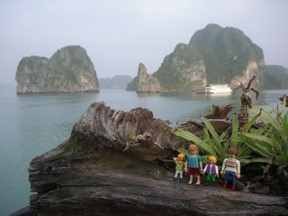 Prêts pour une croisière dans le baie d'Halong ?