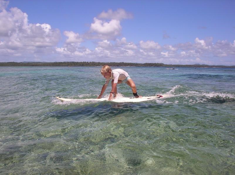 Cours de surf avec Mael - position 2