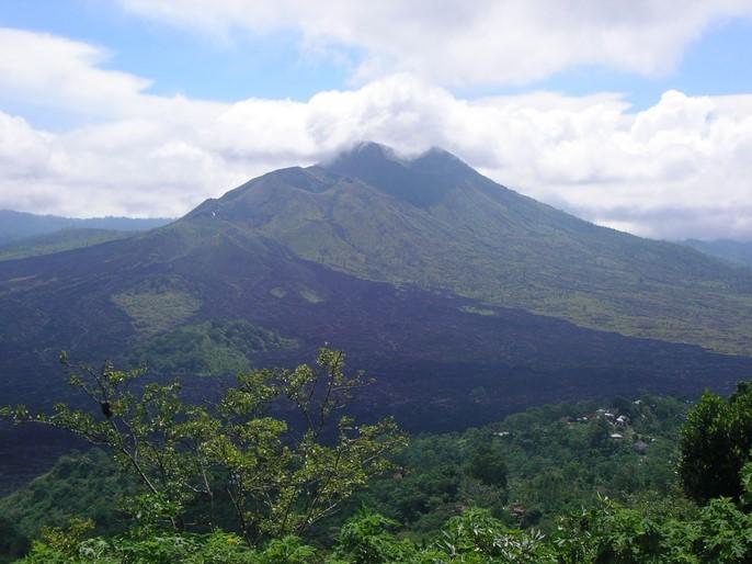 Les cratères du Mont Batur