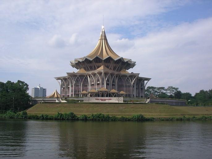 Kuching, une ville calme et agréable