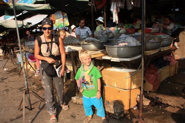 Le marché de Battambang