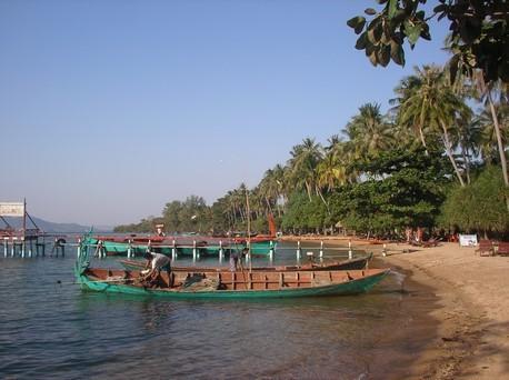 La  plage de débarquement : la première impression !