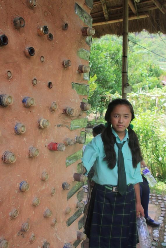 Anjali à la ferme organique