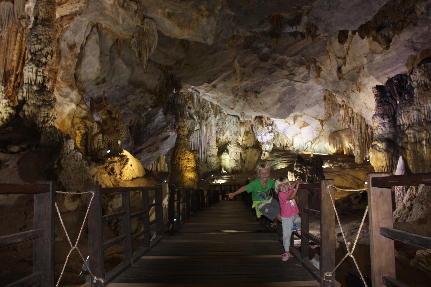 A la découverte de la Grotte du Paradis ...
