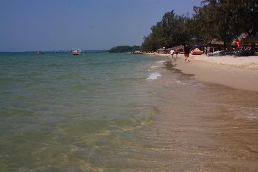 Otres Beach au sud de Sihanoukville
