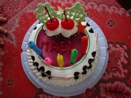 ... pour l'anniversaire de Mael ! 5 ans !
