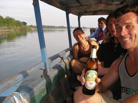 Sortie bateau avec Astrid et Andreas