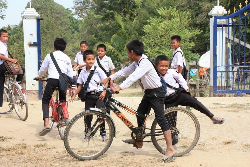 Le vélo, le meilleur moyen pour se rendre à l'école !