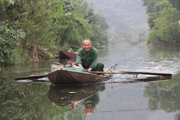 Rencontre au détour de la rivière