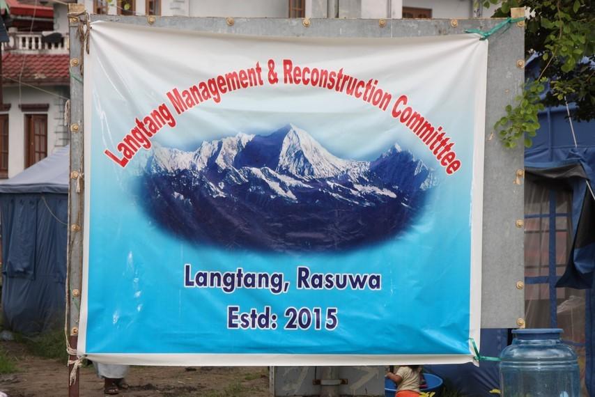 Camp de réfugiés du Langtang