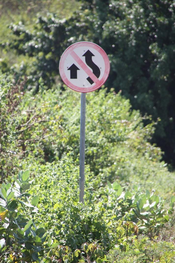 Nouveau panneau de signalisation !