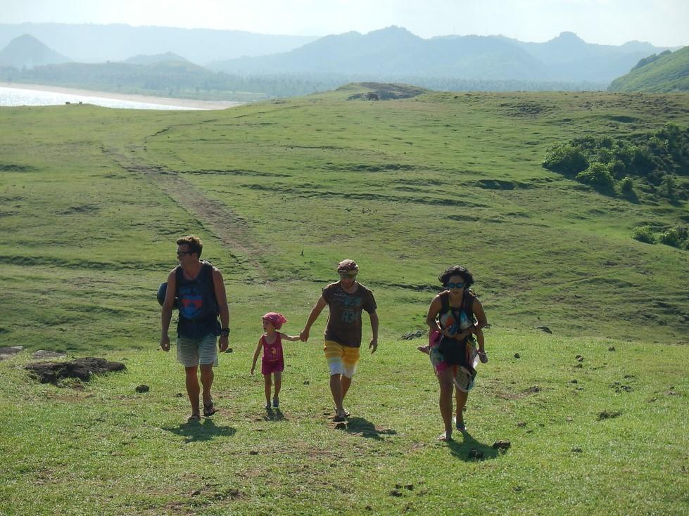 Petite promenade en famille