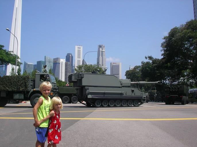 Répétition de l'armée pour le 9 août !
