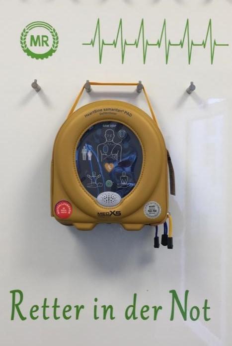 Defibrillator als Retter in der Not
