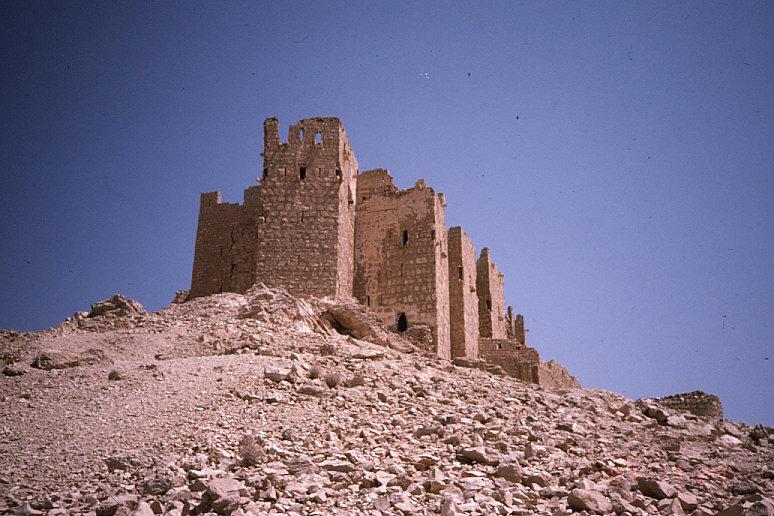 アラブの城塞遠景