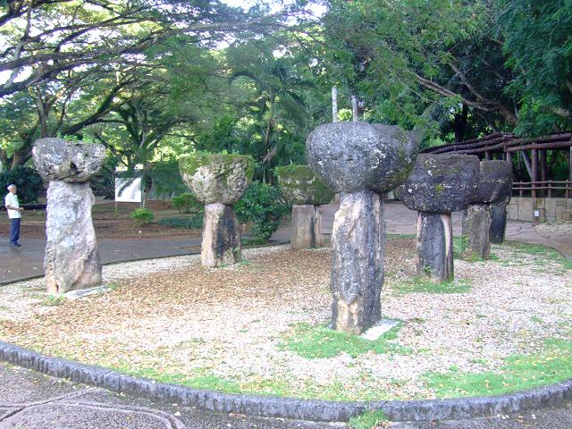 グアム島のラッテ・ストーン公園2