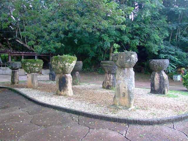 グアム島のラッテ・ストーン公園1