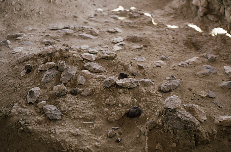 オリゴザイリー遺跡:ハンドアックス