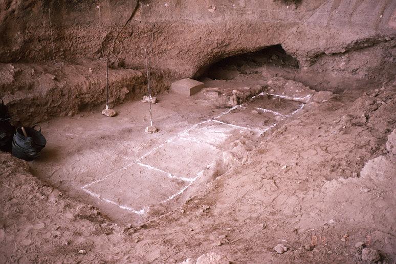 ドゥアラ洞窟内部1:グリッド設定