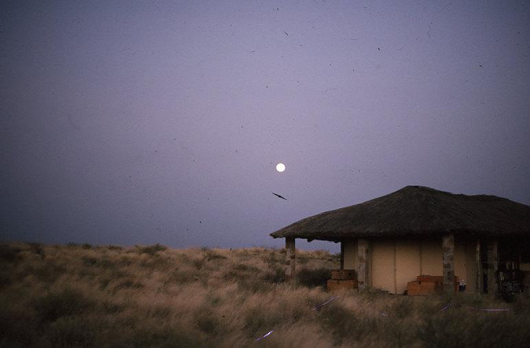 クービ・フォラ遺跡の施設4:夜景
