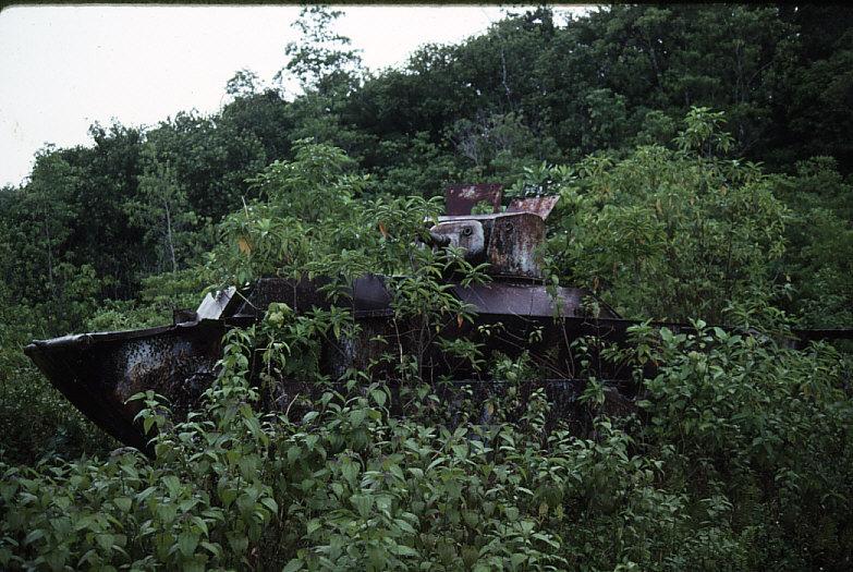 米軍水陸両用装軌車:LVT-A(1)全景