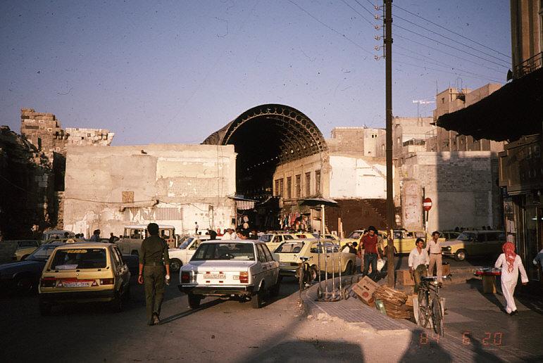 シリアの首都ダマスカス2:スーク(市場)