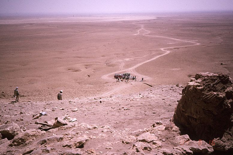 ドゥアラ洞窟から外を撮影