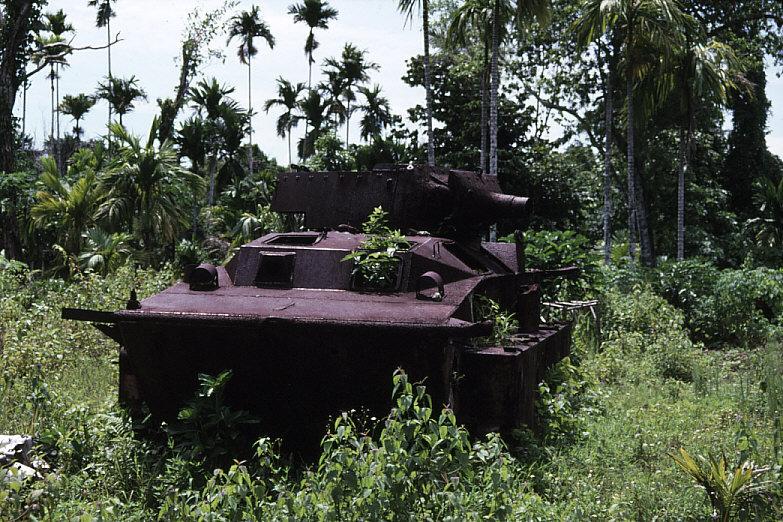 米軍水陸両用装軌車:LVT-A(4)