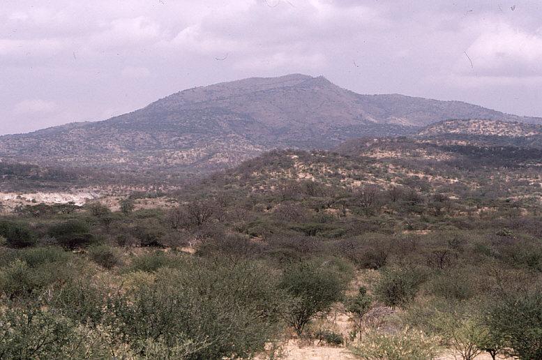 ケニア山岳地帯の風景1