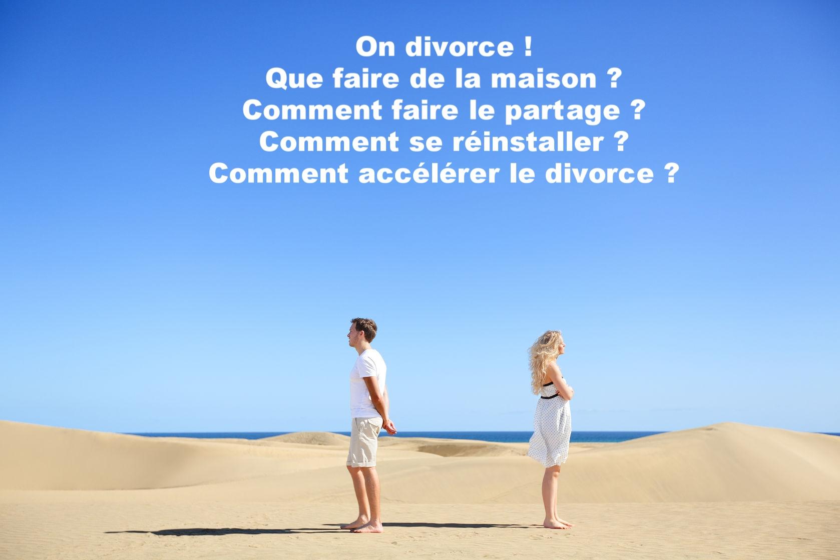 Vous divorcez, comment faire le partage ?