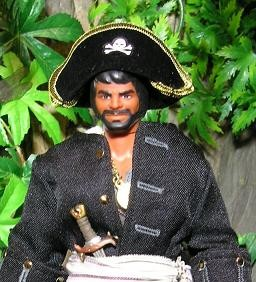 Captain Whip in Pirates