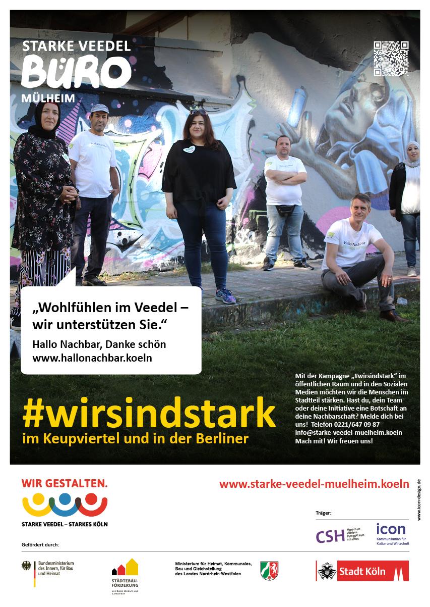 "Initiative ""Hallo Nachbar, Danke schön"""