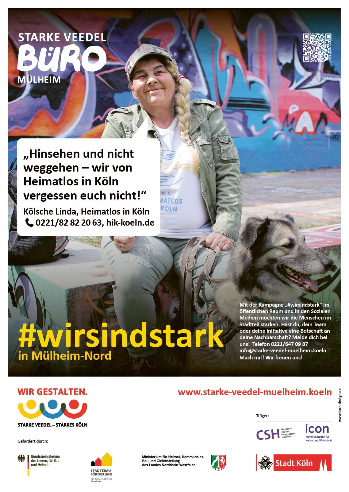 Die Kölsche Linda von Heimatlos in Köln ist unser zweites »Modell«.