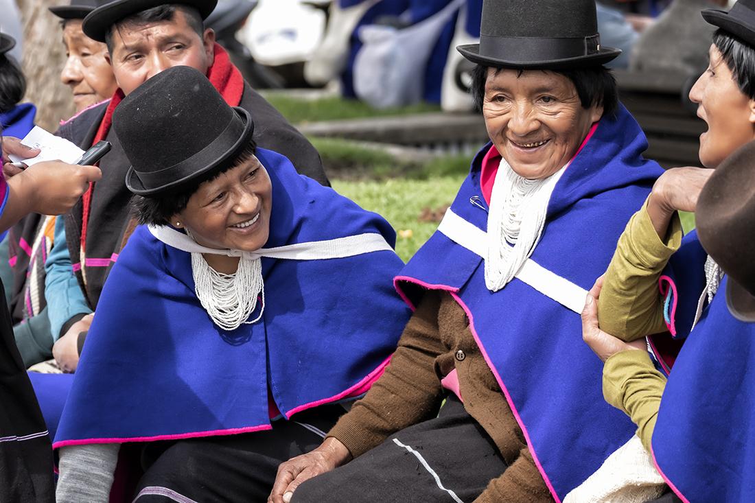 Frauen der Guambianos in Silvia