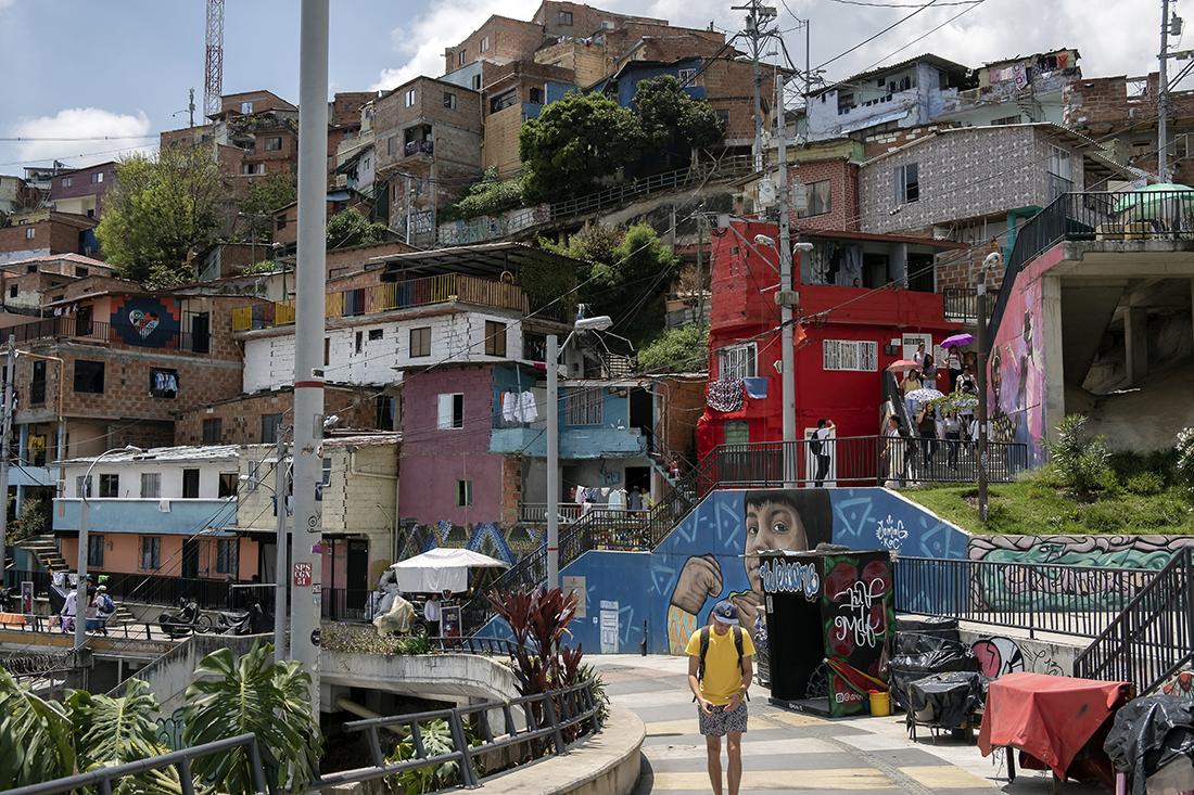 Comune 13 in Medellín