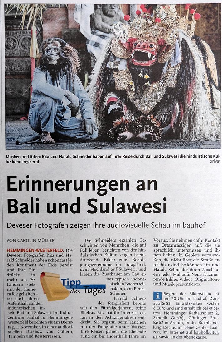 HAZ Bali-Sulawesi Kulturzentrum bauhof hemmingen