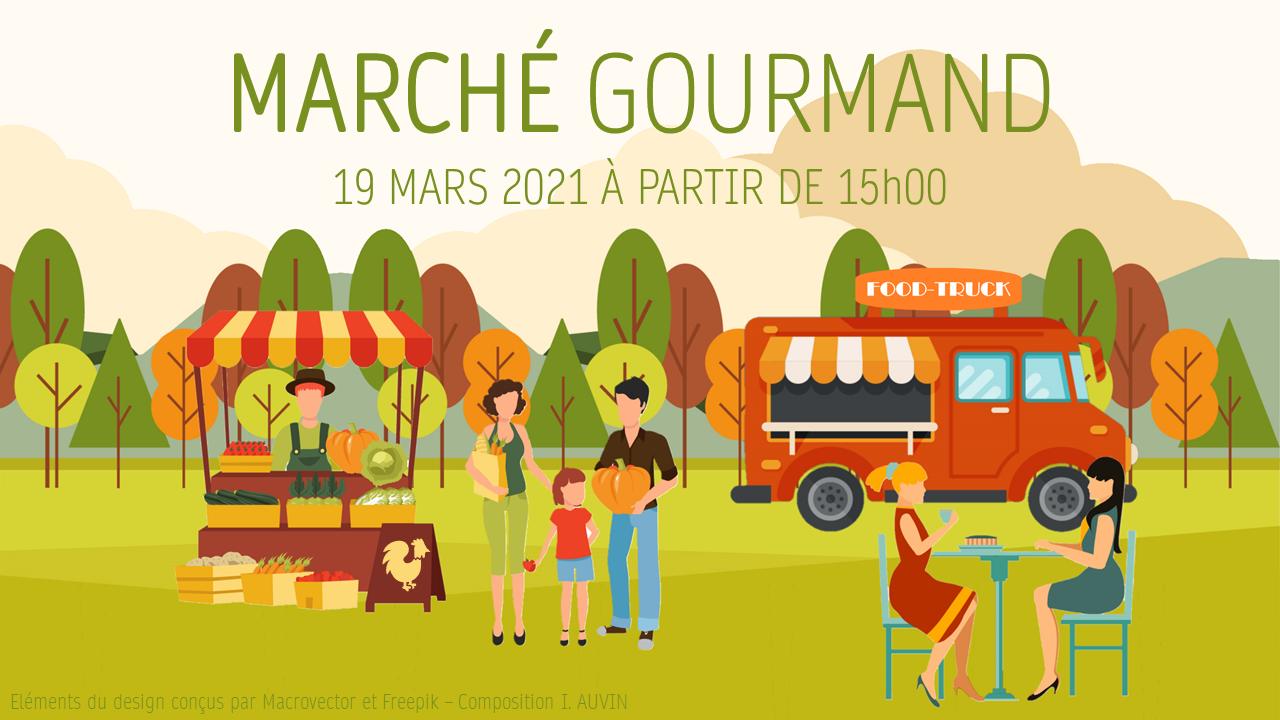 Marché gourmand du 19 mars 2021