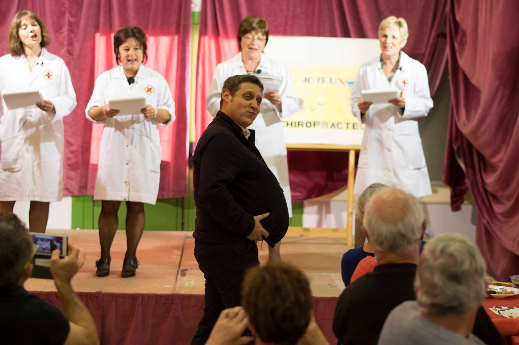 Repas des Aînés 2014 - Le chiropracteur