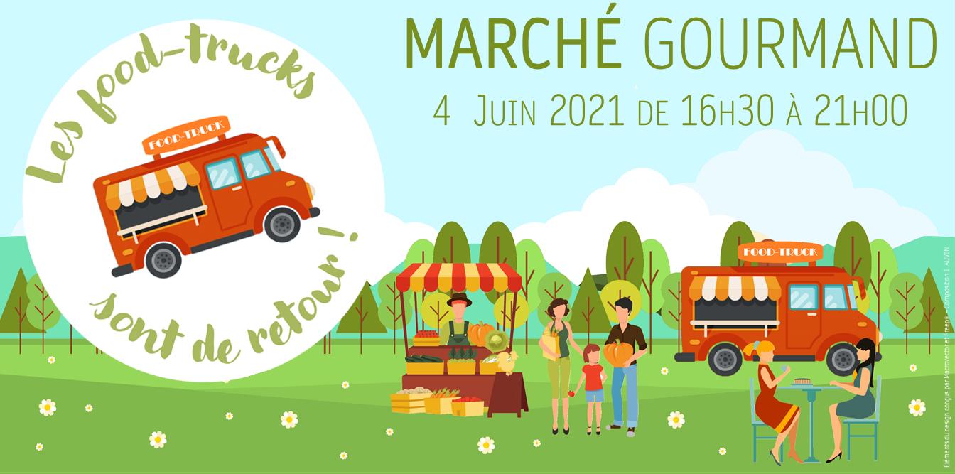 Marché gourmand du 4 juin 2021