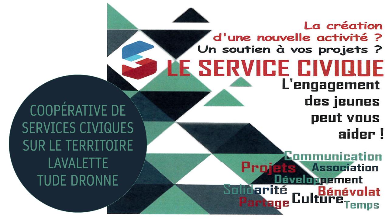 """Coopérative """"Service civique"""" pour les associations Lavalette-Tude-Dronne"""